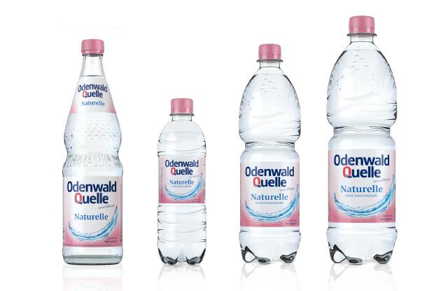 Odenwald Quelle Naturelle Glas Produkte